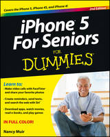 iPhone 5 for Seniors For Dummies (Paperback)