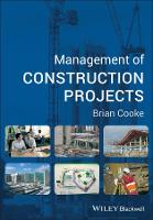 Management of Construction Projects (Paperback)