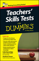 Teacher's Skills Tests For Dummies (Paperback)