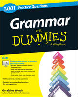 Grammar For Dummies: 1,001 Practice Questions (+ Free Online Practice) (Paperback)