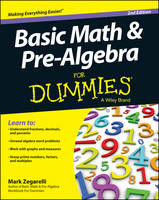 Basic Math & Pre-algebra For Dummies(R) (Paperback)
