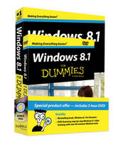 Windows 8.1 for Dummies Book+dvd Bundle (Paperback)