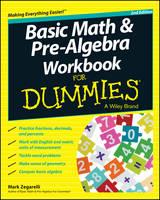 Basic Math & Pre-algebra Workbook For Dummies(R) (Paperback)