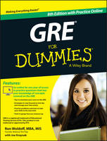 GRE For Dummies: with Online Practice Tests (Paperback)