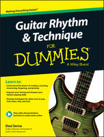 Guitar Rhythm and Technique For Dummies: Book + Online Video & Audio Instruction (Paperback)