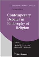 Contemporary Debates in Philosophy of Religion - Contemporary Debates in Philosophy (Paperback)