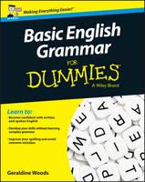 Basic English Grammar For Dummies - UK (Paperback)
