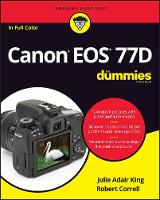 Canon EOS 77D For Dummies (Paperback)