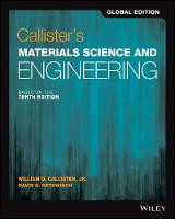 Callister's Materials Science and Engineering (Paperback)