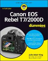 Canon EOS Rebel T7/2000D For Dummies (Paperback)