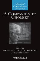 A Companion to Chomsky - Blackwell Companions to Philosophy (Hardback)