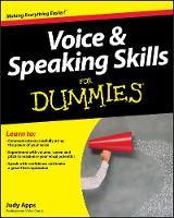 Voice and Speaking Skills For Dummies (Paperback)