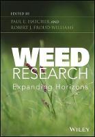 Weed Research: Expanding Horizons (Hardback)
