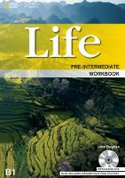 Life Pre-Intermediate: Workbook with Key and Audio CD