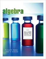 Algebra with Allied Health Applications (Paperback)