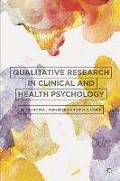 Qualitative Research in Clinical and Health Psychology (Hardback)