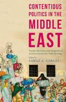 Contentious Politics in the Middle East: Popular Resistance and Marginalized Activism beyond the Arab Uprisings - Middle East Today (Hardback)