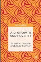 Aid, Growth and Poverty (Hardback)