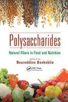 Polysaccharides: Natural Fibers in Food and Nutrition (Paperback)