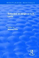 Selected Writings of A.R. Luria - Routledge Revivals (Hardback)