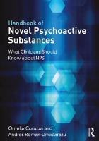 Handbook of Novel Psychoactive Substances: What Clinicians Should Know about NPS (Paperback)