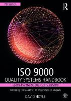 ISO 9000 Quality Systems Handbook-updated for the ISO 9001: 2015 standard