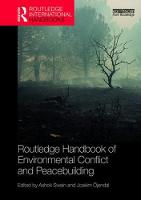 Routledge Handbook of Environmental Conflict and Peacebuilding - Routledge International Handbooks (Hardback)