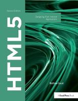 HTML5: Designing Rich Internet Applications (Hardback)