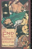 The End of the Communist Revolution (Hardback)