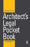 Architect's Legal Pocket Book (Hardback)