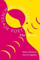 Teaching the Art of Poetry: The Moves (Hardback)