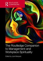 The Routledge Companion to Management and Workplace Spirituality - Routledge Companions in Business, Management and Accounting (Hardback)