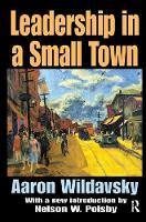 Leadership in a Small Town (Hardback)