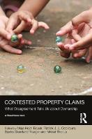 Contested Property Claims: What Disagreement Tells Us About Ownership - Social Justice (Hardback)