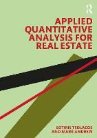 Applied Quantitative Analysis for Real Estate (Paperback)