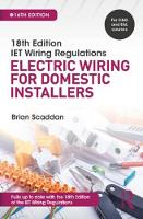 IET Wiring Regulations: Electric Wiring for Domestic Installers