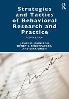 Strategies and Tactics of Behavioral Research and Practice