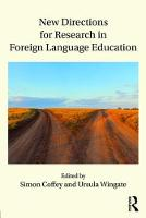 New Directions for Research in Foreign Language Education (Paperback)