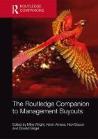 The Routledge Companion to Management Buyouts - Routledge Companions in Business, Management and Marketing (Hardback)