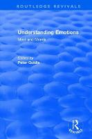 Understanding Emotions: Mind and Morals (Hardback)