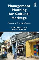 Management Planning for Cultural Heritage: Sites and their Significance (Paperback)