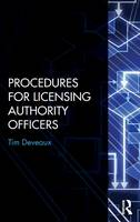 Procedures for Licensing Authority Officers (Hardback)