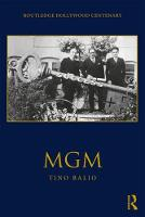 MGM - The Routledge Hollywood Centenary Series (Paperback)