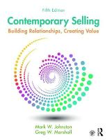 Contemporary Selling: Building Relationships, Creating Value (Paperback)