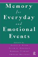 Memory for Everyday and Emotional Events (Paperback)