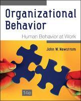 Organizational Behavior: Human Behavior at Work (Int'l Ed) (Paperback)