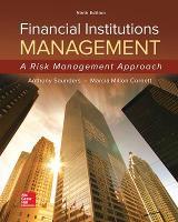 Financial Institutions Management: A Risk Management Approach (Hardback)