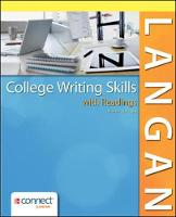 College Writing Skills with Readings 9e with MLA Booklet 2016