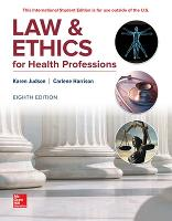 LAW & ETHICS FOR HEALTH PROFESSIONS (Paperback)