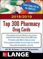 McGraw-Hill's 2018/2019 Top 300 Pharmacy Drug Cards (Paperback)